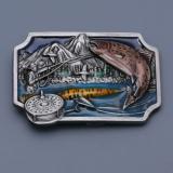 Přezka na opasek - Ryba