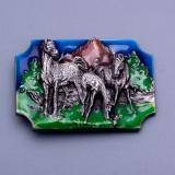 Přezka na opasek - Koně