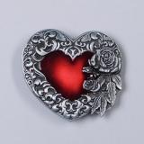 Přezka na opasek - Srdce