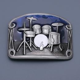 Přezka na opasek Bubny / Drums - zvětšit obrázek