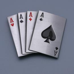 Přezka na opasek -Play Cards - zvětšit obrázek