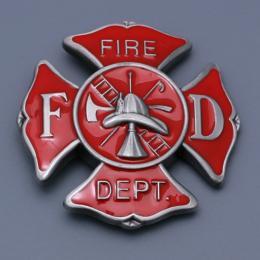 Přezka na opasek Fire Dept. - zvětšit obrázek