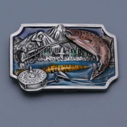 Přezka na opasek - Ryba - zvětšit obrázek