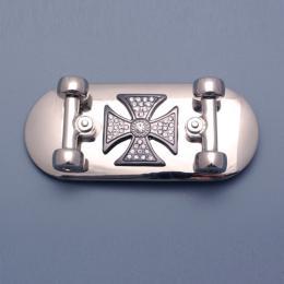 Přezka na opasek - Skateboard - zvětšit obrázek