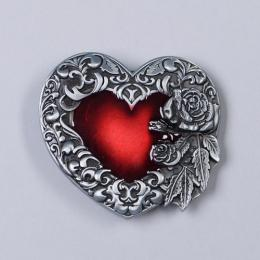 Přezka na opasek - Srdce - zvětšit obrázek