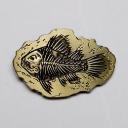 Přezka na opasek- Rybí fosilie - zvětšit obrázek